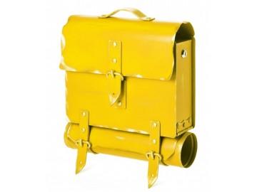 Briefkasten Postkasten Antik UNIKAT Handarbeit Schulranzen Design