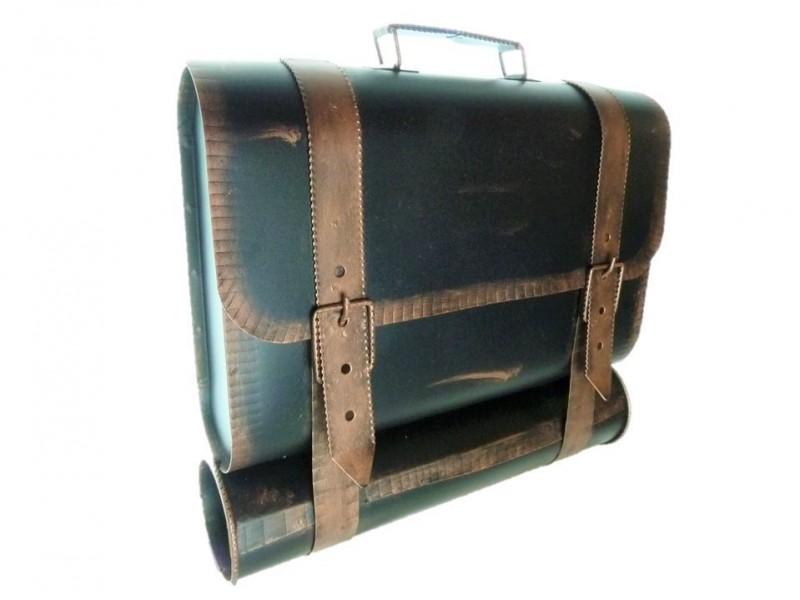 briefkasten mit zeitungsrolle postkasten zeitungsbox. Black Bedroom Furniture Sets. Home Design Ideas